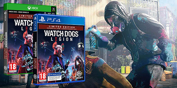 Watch Dogs Legion Limited Edition para PS4 y Xbox