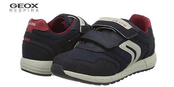 Zapatillas deportivas Geox J Alben Boy C para niño baratas en Amazon