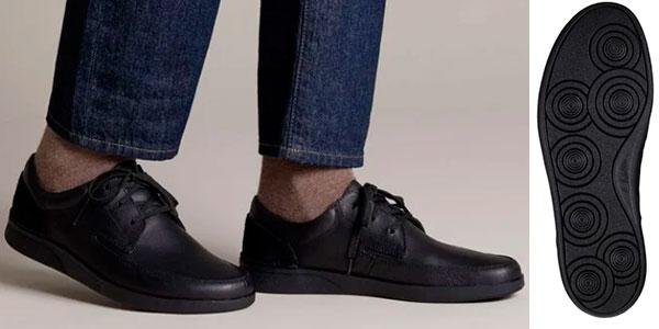 Zapatos Clarks Oakland Craft para hombre baratos