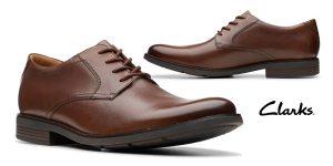 Zapatos de cordones Clarks Becken Lace para hombre baratos en Amazon