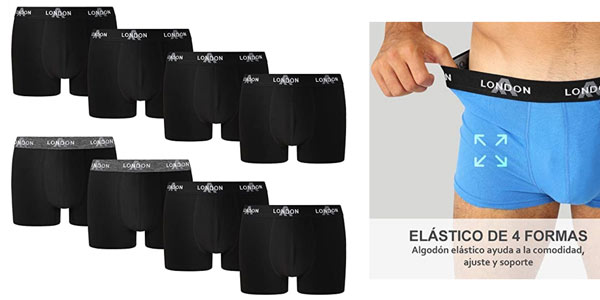 Boxers Fm London Fitted baratos en Amazon