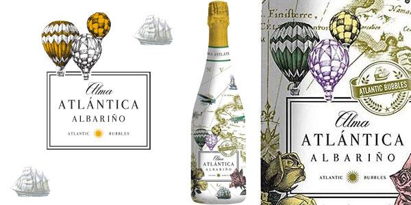 Botella Albariño Espumoso Alma Atlántica de 750 ml barata en Amazon