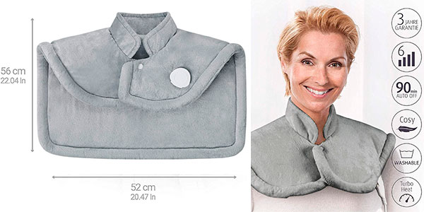 Almohadilla de calor Medisana HP 622 para hombro y cuello barata