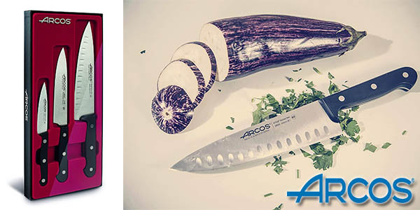 Arcos set de cuchillos barato