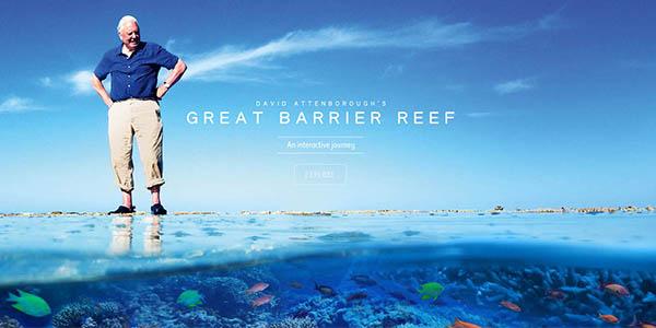 Attenboroughsreef recorrido online Barrera coral australiana