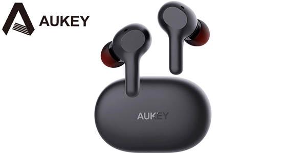 Auriculares Bluetooth AUKEY EP-T15 con estuche de carga
