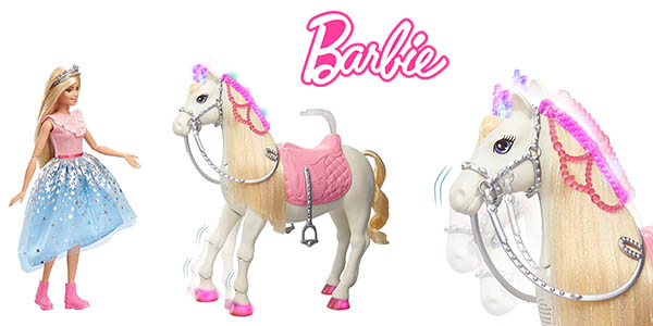 Barbie Princess Adventure Caballos muñeca oferta