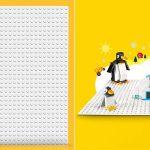 Plancha de juego base blanca LEGO Classic barata en Amazon
