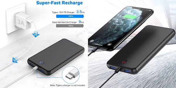 Batería portátil iPosible de 26.800 mAh con QC3.0 barata