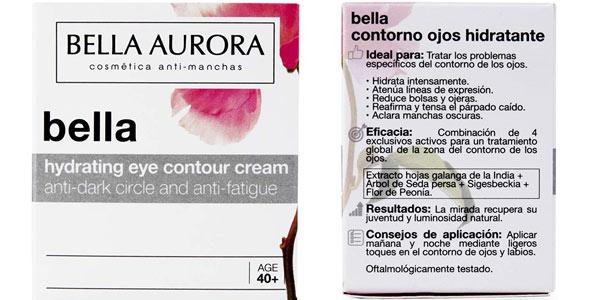 Bella Aurora Crema Anti Ojeras y Anti Edad para el contorno de ojos en Amazon