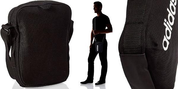 Bandolera Adidas Linear Core en oferta