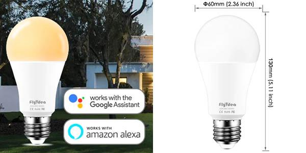 Bombilla LED WiFi Flyidea E27 de 15W barato