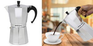 Cafetera italiana Orbegozo KF1200 para 12 tazas barata en Amazon
