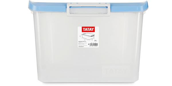 Caja ordenación TATAY 1150005 de 35 litros oferta en Amazon