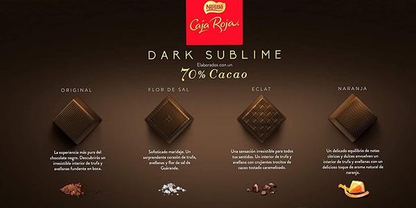 Caja Roja Nestlé Dark Sublime oferta