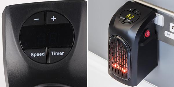 Mini Calefactor de aire eléctrico portátil de 300W