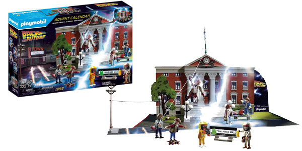 Playmobil Calendario de adviento Regreso al Futuro - Back To The Future barato en Amazon