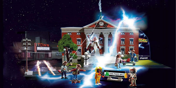 Playmobil Calendario de adviento Regreso al Futuro - Back To The Future chollo en Amazon