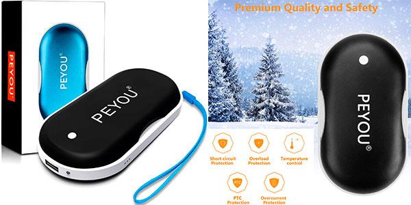 Chollo Calentador de manos Peyou USB recargable