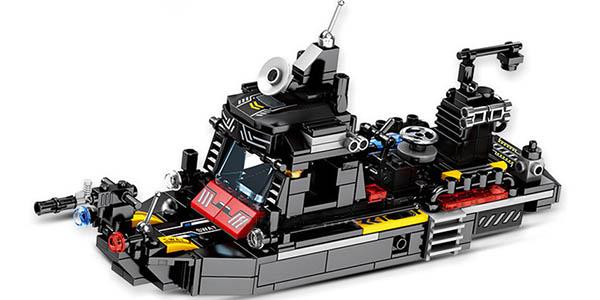 Set Camión de Policía y vehículos SWAT estilo LEGO barato