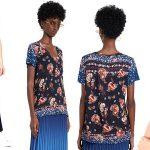 Camiseta Desigual Antoine para mujer barata en Amazon