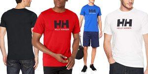 Camiseta de manga corta Helly Hansen Logo T-Shirt para hombre barata en Amazon