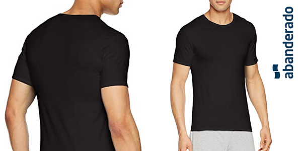 Camiseta Abanderado X-Temp de manga corta para hombre barata en Amazon