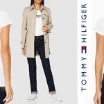 Camiseta de manga corta Tommy Hilfiger Tjw Essential Logo para mujer barata en Amazon