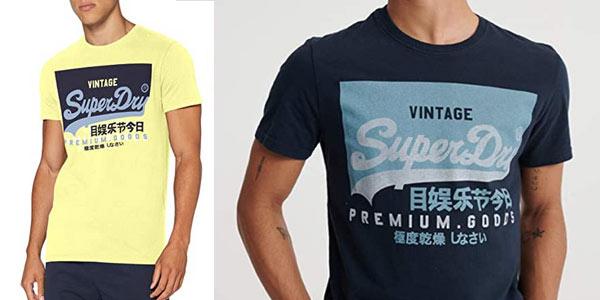 Camiseta Superdry Vl o Tee barata