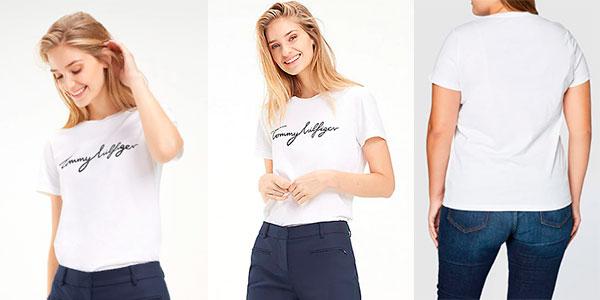 Camiseta Tommy Hilfiger Heritage para mujer barata