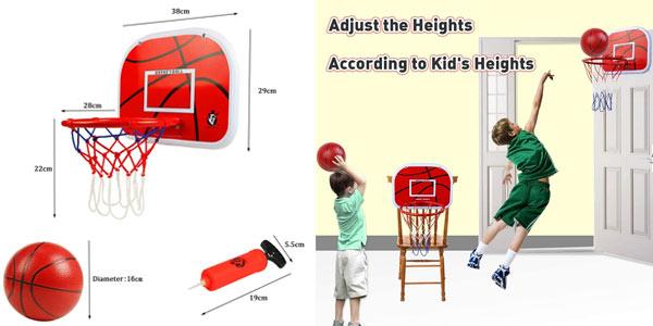 Canasta baloncesto infantil en oferta en Amazon
