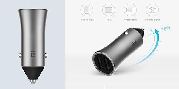 Cargador de coche Xiaomi Mi Car Charger Pro barato