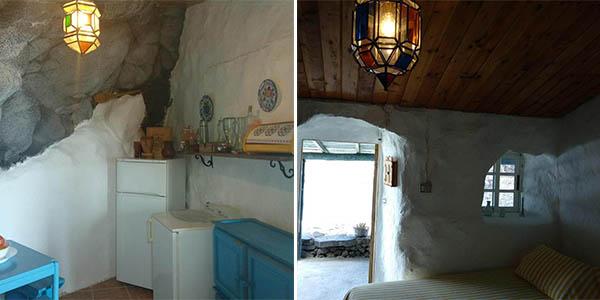 casa cueva El Pozo de las Calcosas Tenerife chollo alojamiento