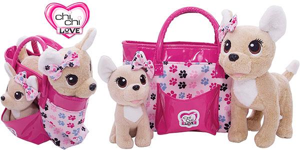 Chollo Set Bolso Chi Chi Love con 2 perritos
