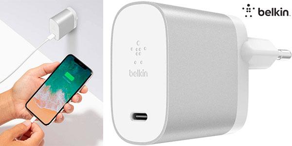 Chollo Cargador Belkin Boost Charge USB-C