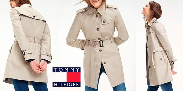 Chollo Gabardina Tommy Hilfiger Heritage para mujer