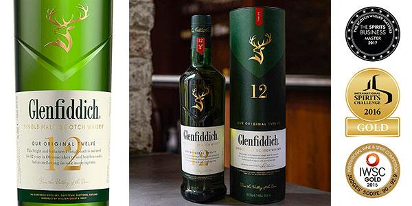 Chollo Whisky Glenfiddich 12 Años de 700 ml