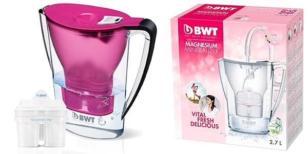 Chollo Jarra filtradora de agua con magnesio BWT Penguin de 2,7 litros