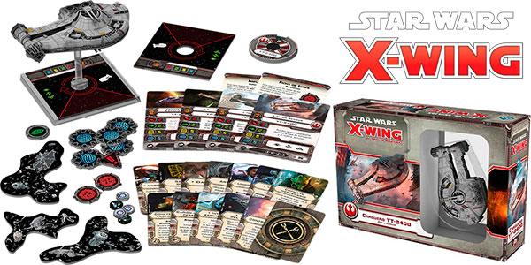 Chollo Juego X-Wing: Carguero IT-2400 de Star Wars