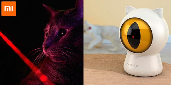 Chollo Juguete láser para gatos Xiaomi Mijia Petoneer