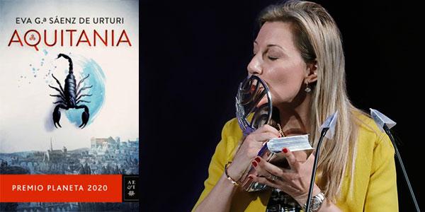 """Chollo Libro """"Aquitania"""" (Premio Planeta 2020) en tapa dura"""