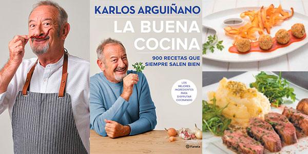 """Chollo Libro """"La buena cocina: 900 recetas que siempre salen bien"""" de Arguiñano en tapa dura"""