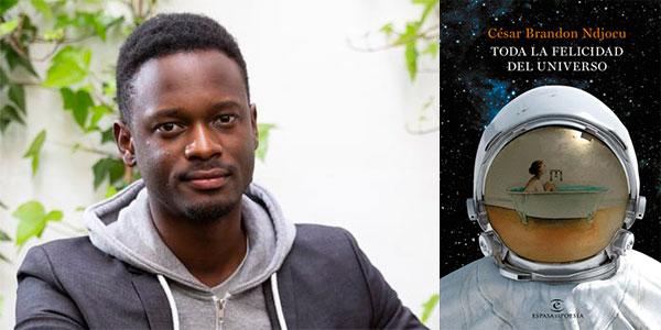 """Chollo Libro """"Toda la felicidad del universo"""" en tapa dura de César Brandon Ndjocu"""