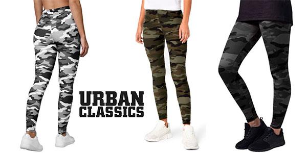 Chollo Mallas de camuflaje Urban Classics para mujer