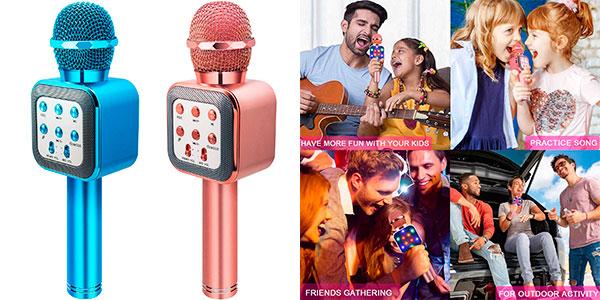 Chollo Micrófono Karaoke 4 en 1 Shinepick