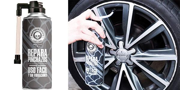 Chollo Repara pinchazos Motorrevive para coche y moto de 500 ml