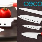 Chollo Set Cecotec de 4 cuchillos Santoku con recubrimiento cerámico