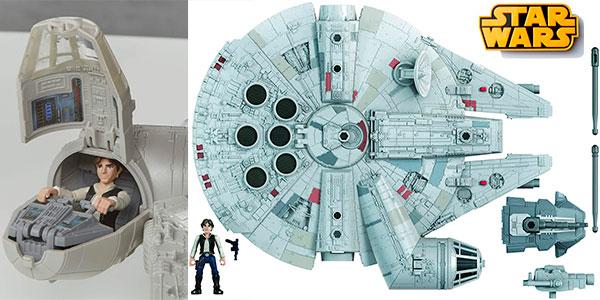 Chollo Set Halcón Milenario Star Wars Mission Fleet