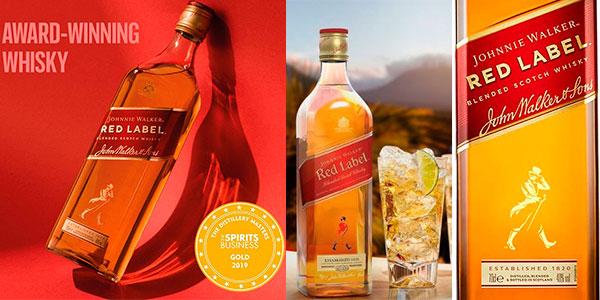 Chollo Whisky Johnnie Walker Red Label