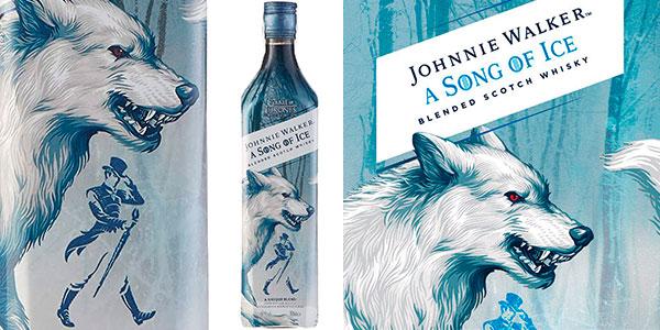 Chollo Whisky Johnnie Walker Song of Ice Edición Limitada Juego de Tronos de 700 ml